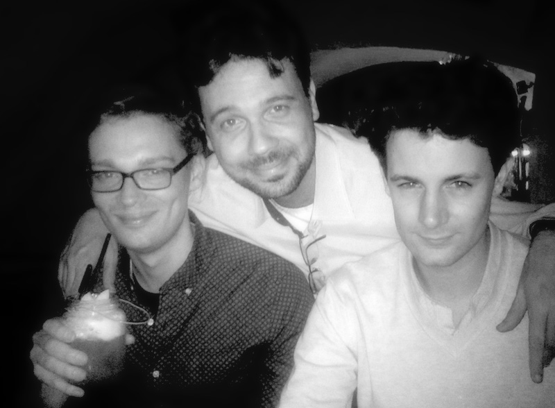 Chris Roe, George Christopoulos & Benjamin Woodgates, during Soundtrack Cologne.